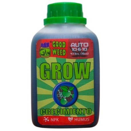 Fertilizante Grow 473ml (16oz) - Fórmula Auto